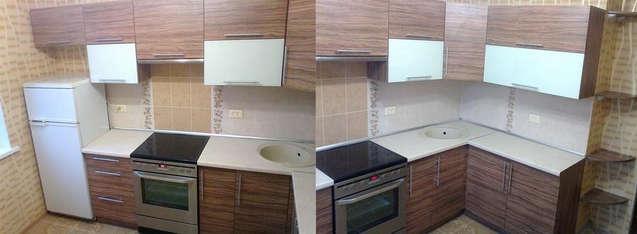 Фасады для кухни своими руками из дсп