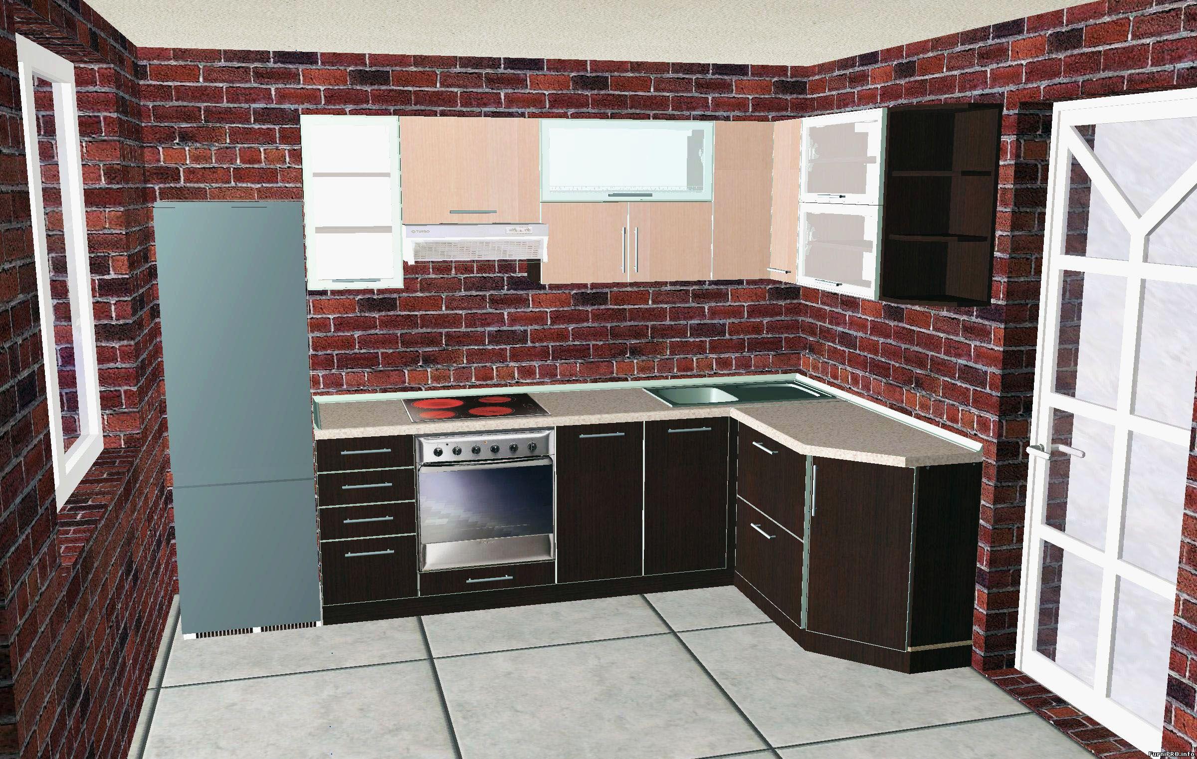 Дизайн кухни своими руками угловые 35